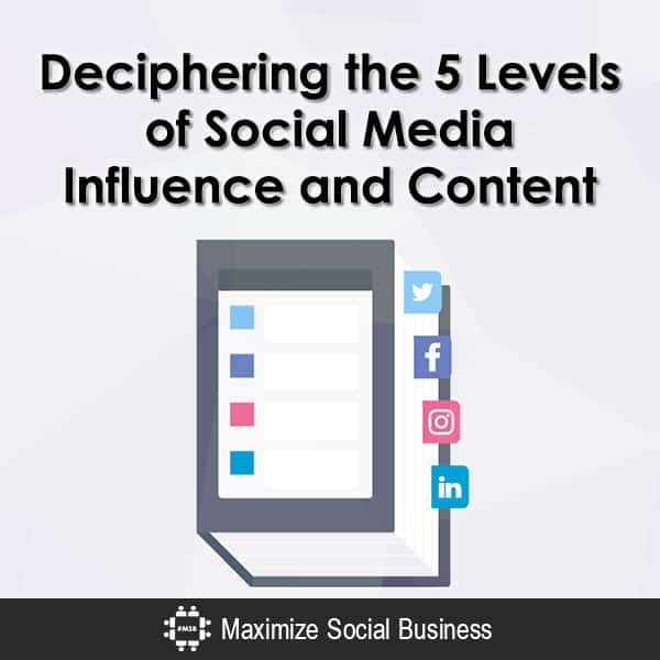 Deciphering the 5 Levels of Social Media Influence and Content Influencer Marketing  Deciphering-the-5-Levels-of-Social-Media-Influence-and-Content-600x600-V3