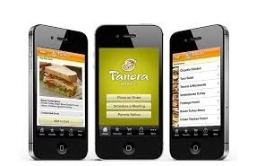 5 Ways Panera Bread Creates an Engaging Customer Experience - A Case Study Customer Experience Marketing  Panera-Bread-mobile-order
