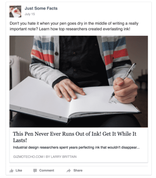 How Is Facebook Tackling 'Clickbait'? Facebook  facebook-clickbait-2-526x600