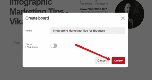 How to Use Infographics on Pinterest to Get More Website Traffic Infographics  Create_board_name-600x314