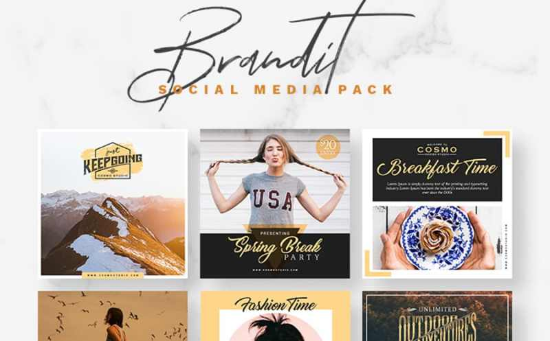 Brandit Social Media Pack Bundle