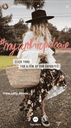 10 e-Commerce Brands Using Instagram Stories Effectively Instagram  image4-337x600