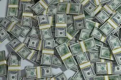 Is financial success a pile of money?