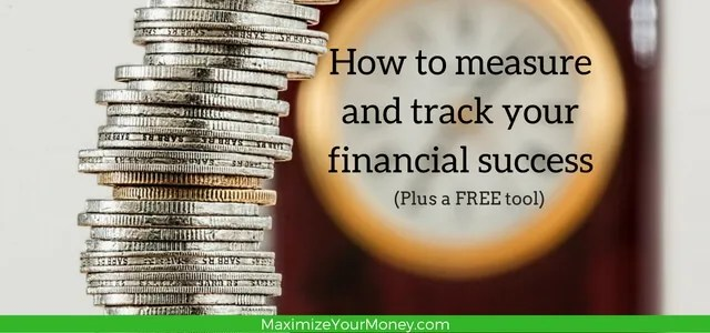 measure and track financial success - pin
