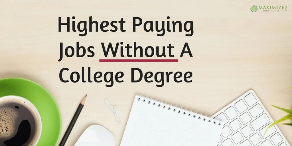 Highest Paying Jobs Without A College Degree