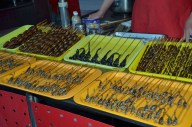 Care for a snack? At the Wangfujing Night Market, downtown Beijing.