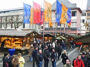 Mainz Market in the center of town.