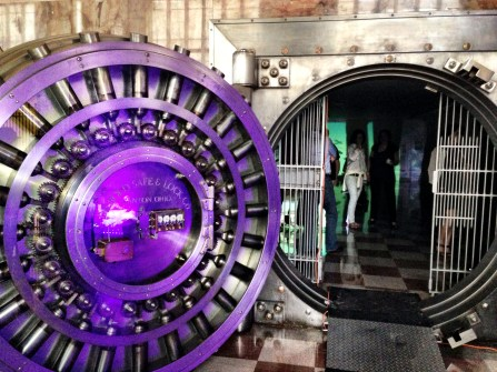 The Vault on the second floor of the Art Moderne Alfred Dupont Building in downtown Miami.