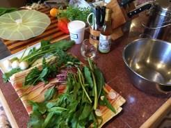 Tools of the trade, Napa, CA cooking school..
