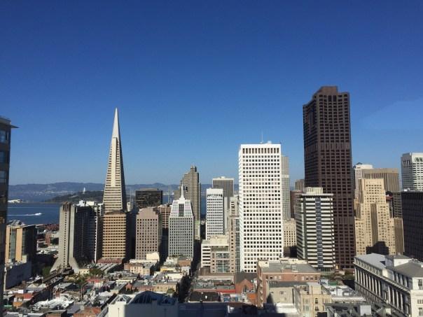 SF skyline.