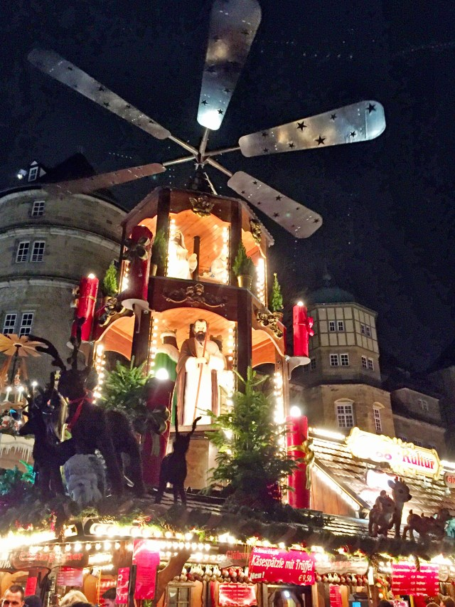 Fabulous decor at the Stuttgart, Germany Christmas Markets.