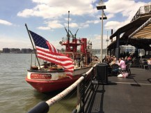 Historic waterfront dining and bar in NYC, The Frying Pan.
