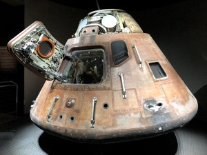 Imagine being inside an early Space Capsule.