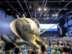 Space Shuttle Atlantis at Kennedy Space Center.
