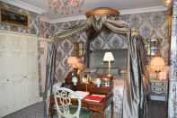 One view of our room at luxurious Ashford Castle.