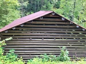 Historic Shelton Log Barn, Madison County, NC