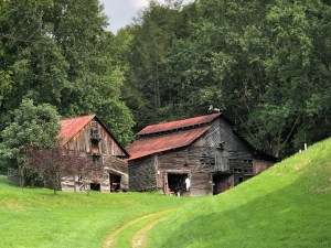 Historic Baker Barn, Madison County, NC