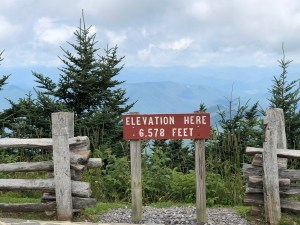 Top of the world, Mount Mitchell State Park, NC
