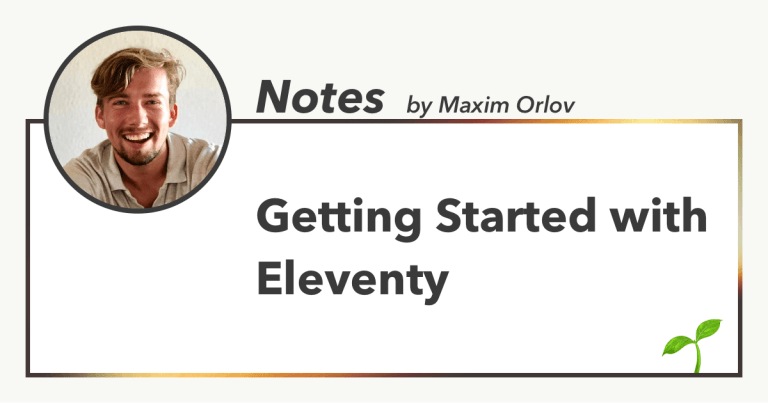 Getting Started with Eleventy