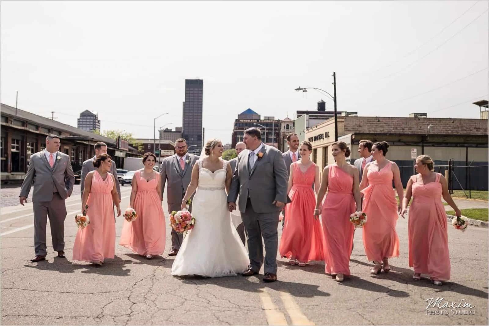 Top Of The Market Wedding Dayton Ohio Wegerzyn Gardens