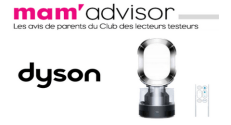 Test Gratuit Famili – Mam'Advisor : Humidificateur ventilateur Humidifier Dyson