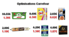 Carrefour : Promotions et optimisations (Du 09 Janvier 2018 au 29 Janvier 2018)