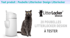 Test Produit Conso Animo : Poubelle Litterlocker Design Litterlocker