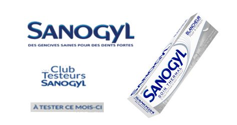 Club des testeurs Sanogyl : Dentifrice Soin Thermal Dents Sensibles Sanogyl.