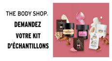 Échantillons gratuits The Body Shop : Kit d'échantillons offert en magasin