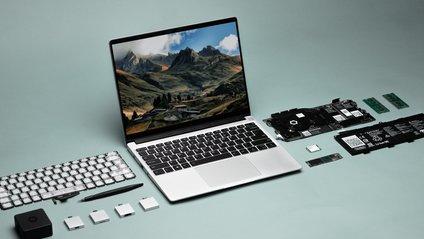 Представлено модульний ноутбук, який можна буде дуже легко ...