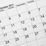 Looking Ahead – Marketing Calendar October 2011