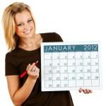 Looking Ahead – Marketing Calendar January 2012
