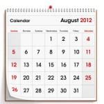 Looking Ahead – Marketing Calendar August 2012