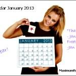 Looking Ahead – Marketing Calendar January 2013