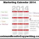Looking Ahead – Marketing Calendar 2014