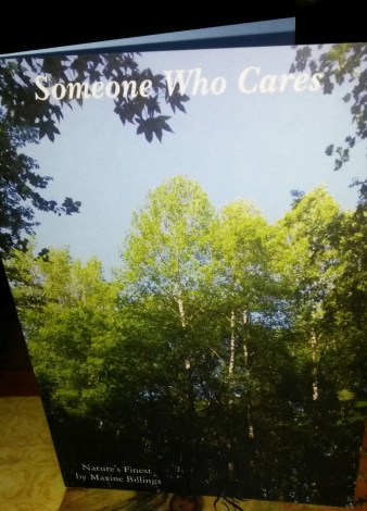 ZAZZLE CARD (SOMEONE CARES) FRT