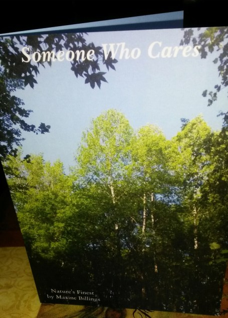 ZAZZLE CARD (SOMEONE CARES) FRT