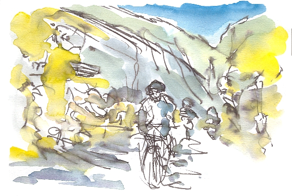 Heading for Col d'Aubisque