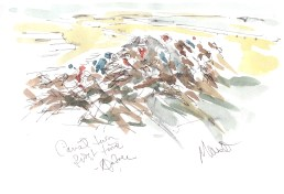 Maxine Dodd, 'The Canal Turn for the First Time' - Racing at Aintree