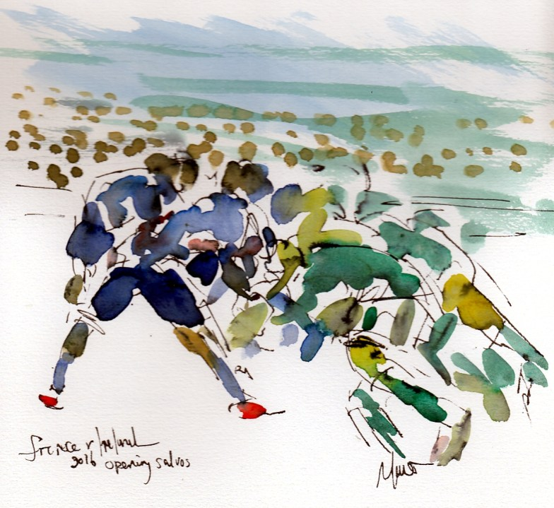 Six Nations: France v Ireland by Maxine Dodd