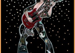 Jimmy Page: illustration by Maxine Miller