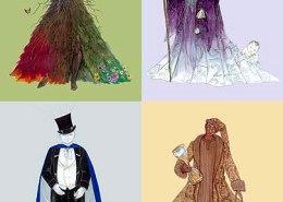 The Santa Clause 2 costume illustrations: Maxine Miller