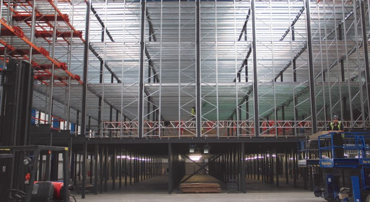 Pallet rack mezzanine | pallet rack mezzanine systems | pallet rack supported mezzanine | pallet racking mezzanine systems | Warehouse storage mezzanine floors