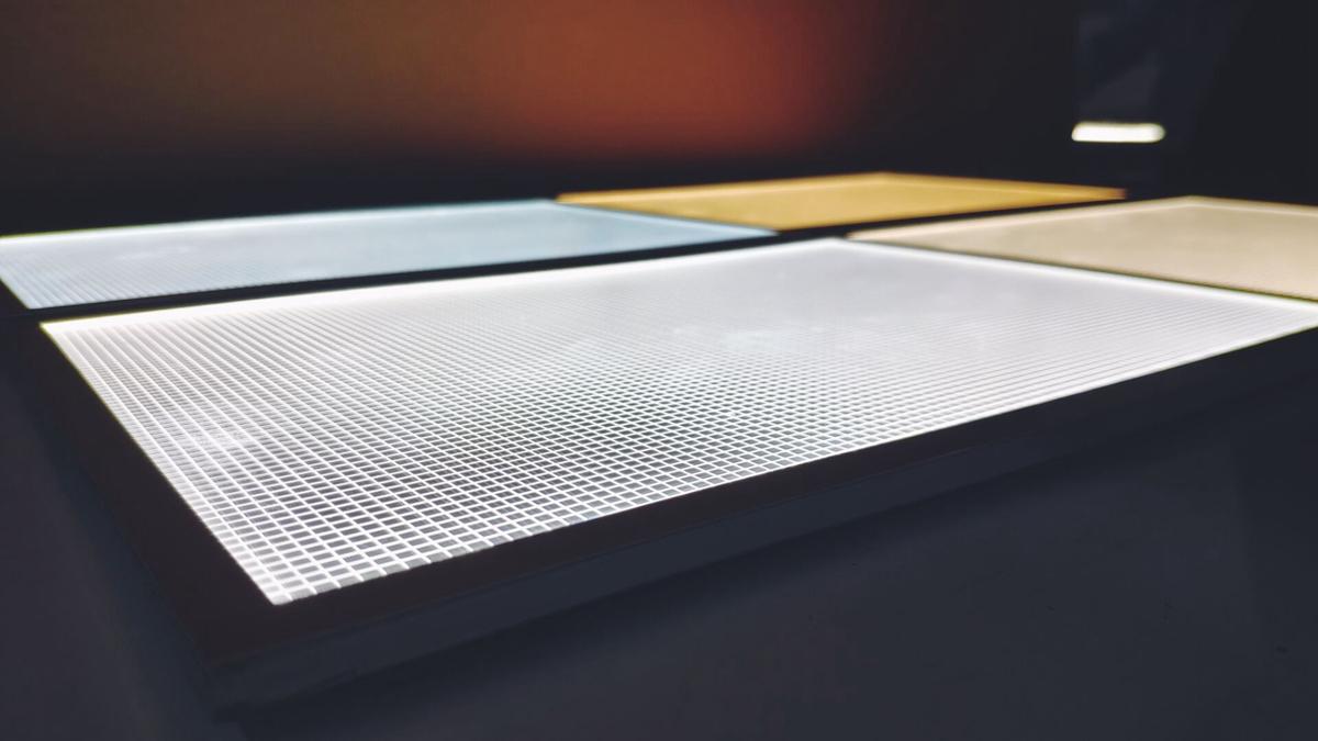 acrylic led panel