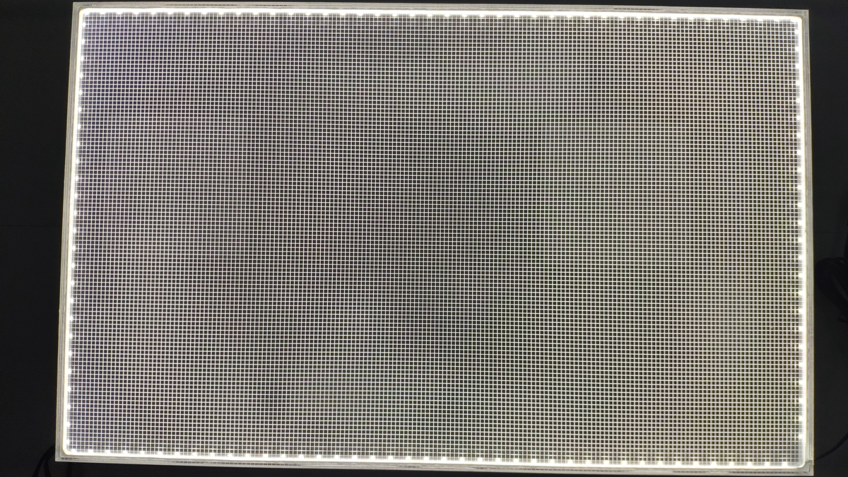 Edge-lit Panel