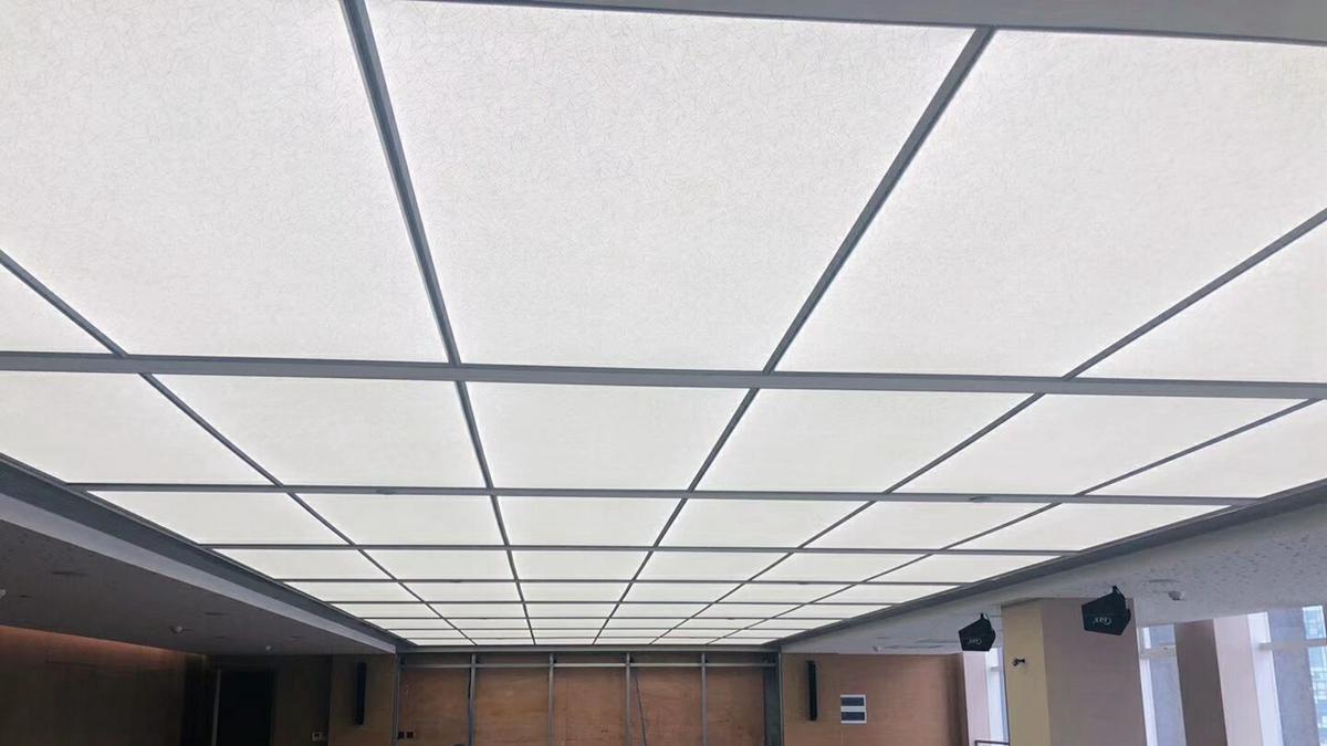 Fabric led lighting panel