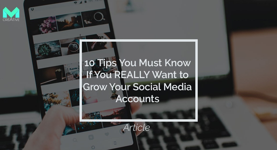 Grow your social media account tips