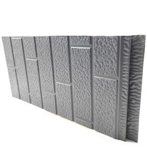 IND FACADE PANEL Standard Brick Pattern Gray color