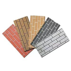 IND FACADE PANELS Standard Brick Pattern Dual color