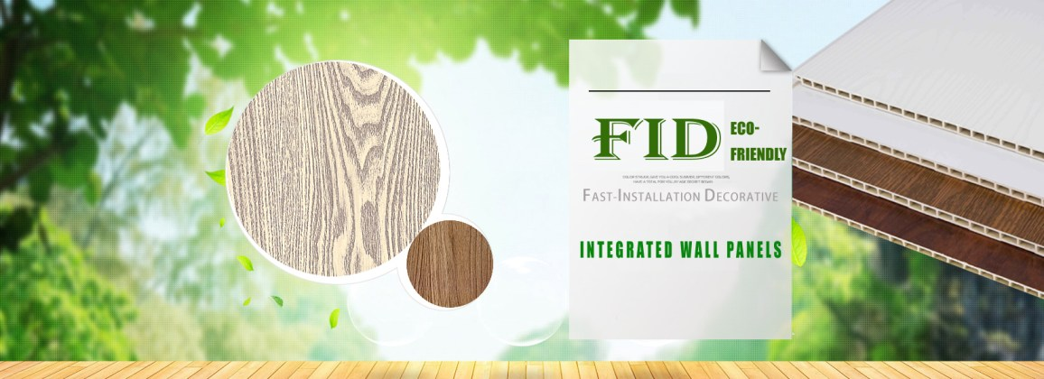 FID integrated wall panel